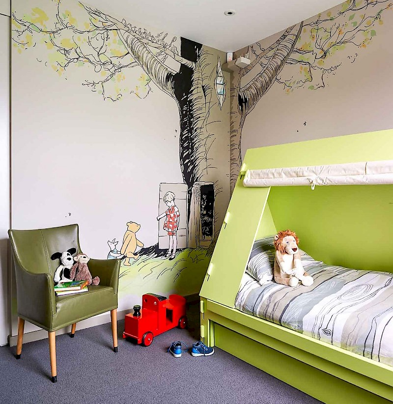 Fun kids spaces and kids bedrooms