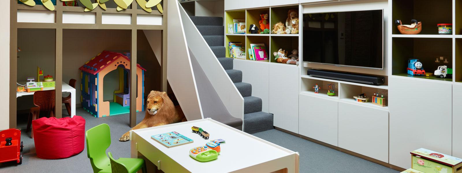 Ensoul under garden basement playroom mezzanine kids spaces