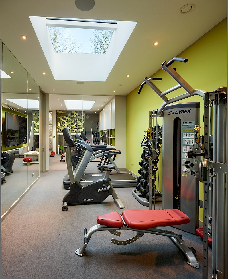 Ensoul Wandsworth Common Gym Basement Cybex
