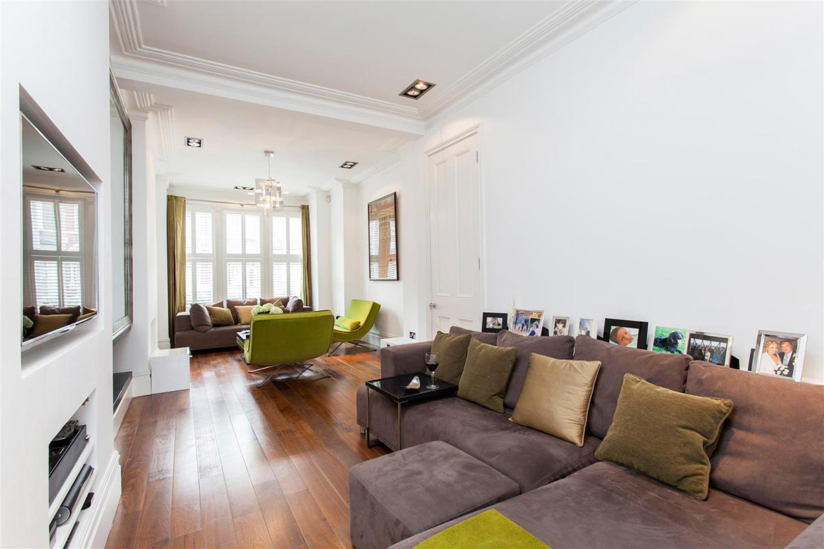 Ensoul Clapham Sitting Room Open Plan Snug TV area formal sitting room