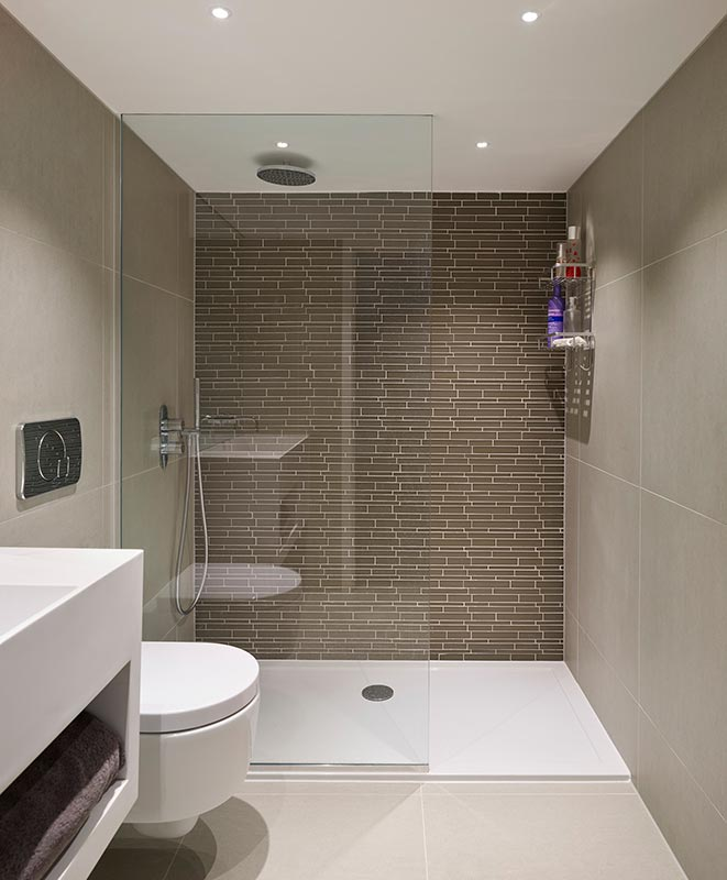 Ensoul Earls Court Ensuite Master Bathroom Mosaic Tiling Shower Wet Room