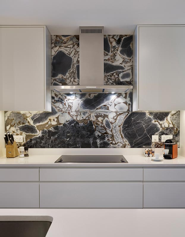 Ensoul Kitchen Splashback Marble Feature Wall Cabinetry