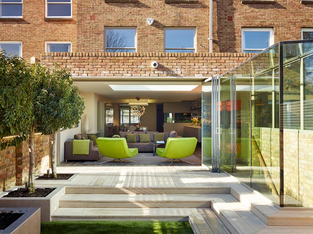 Ensoul Rear Extension London Glass Box extension Basement
