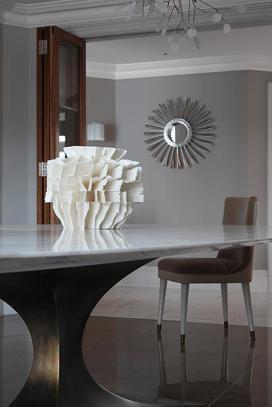Ensoul Sussex Dining Room Marble Table Bespoke furniture