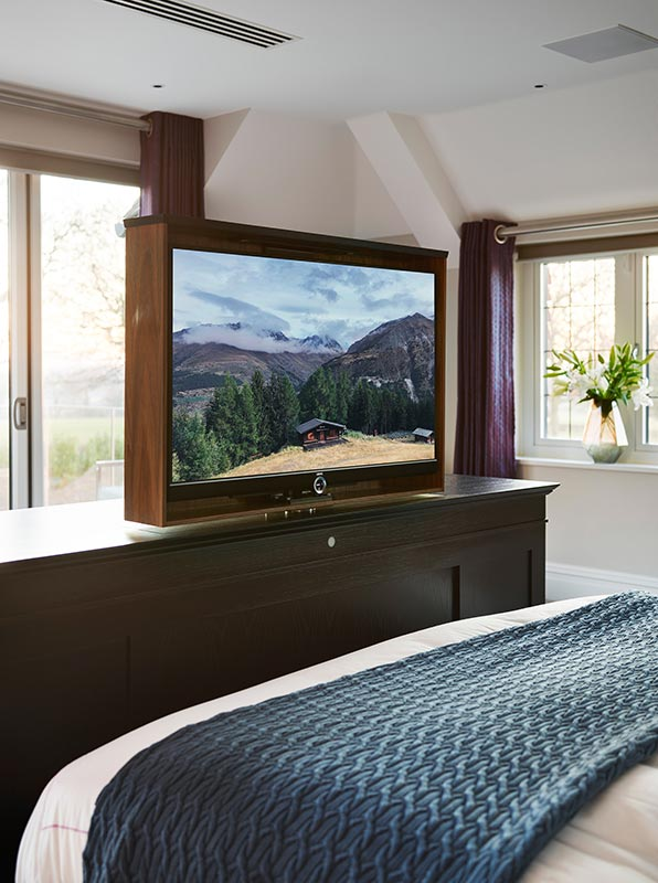 Ensoul Sussex Master Bedroom TV cabinet bespoke furniture