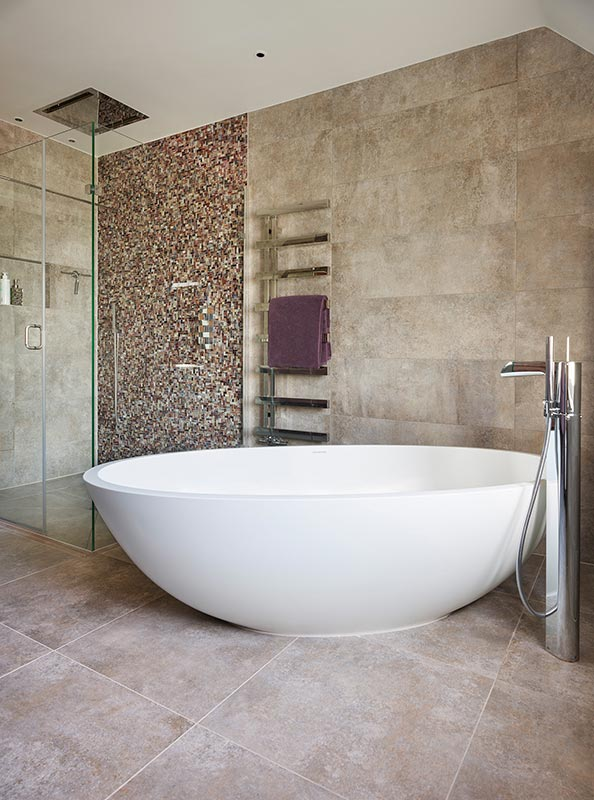 Ensoul Sussex Master Ensuite Freestanding Bath Concrete
