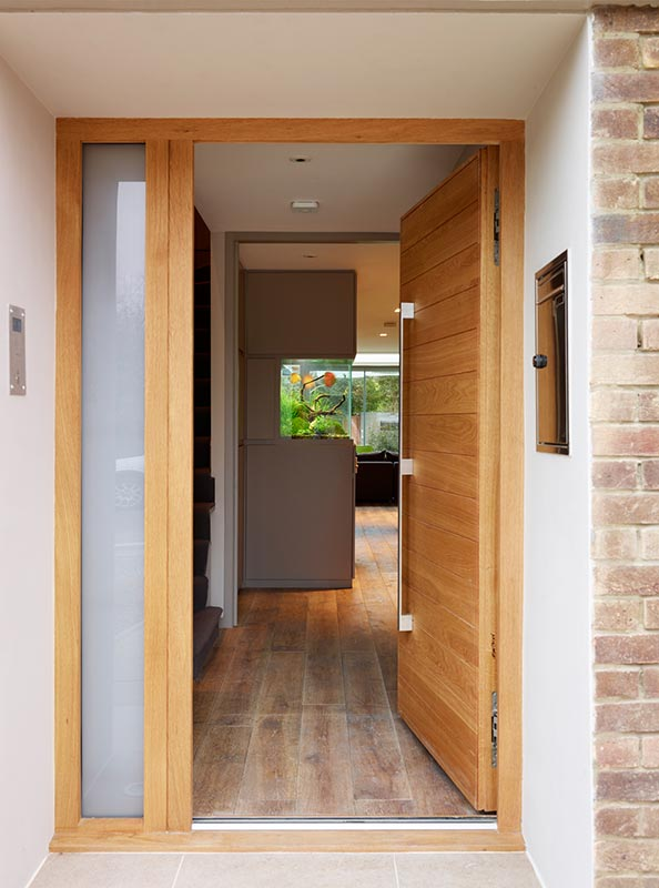 Ensoul Wandsworth Entrance Hall Front Door Oak