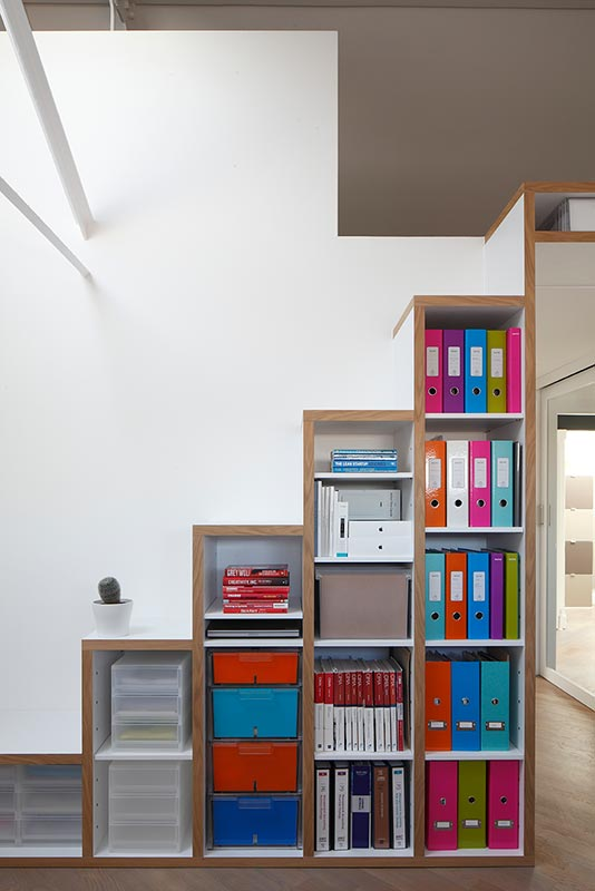Ensoul PK LO Flat Apartment Mezzanine Bespoke Staircase Bookshelf