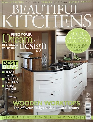 Beautiful kitchen mag cover
