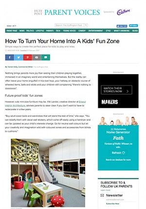 Cover huffingtonpost kids zone