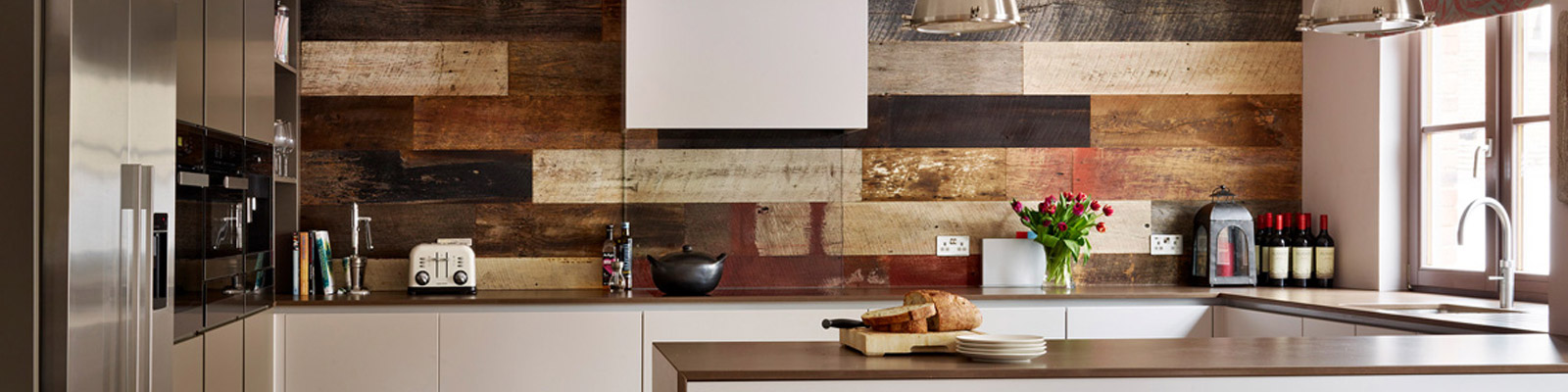 Ensoul Highgate London Kitchen Industrial Feature Wall