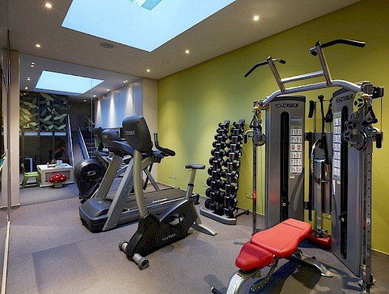 under garden basement extension conversion gym
