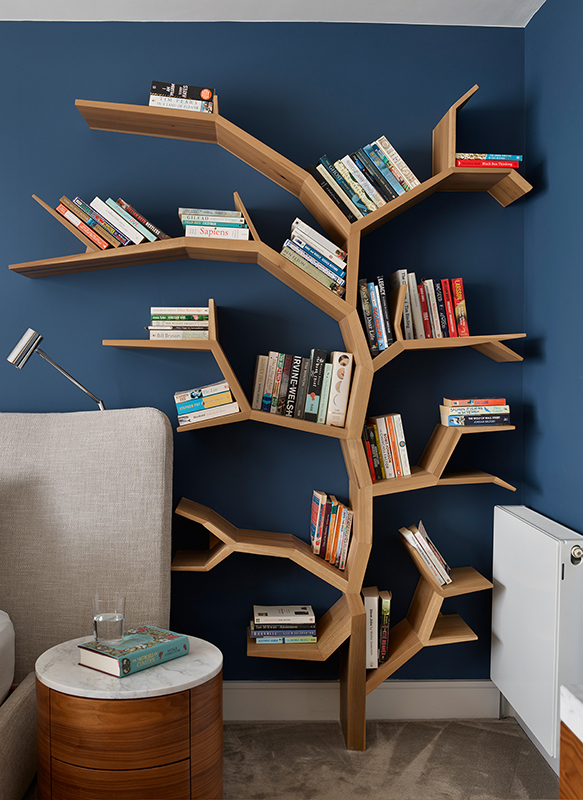 By Ensoul Putney Bedside Table Tree Bespoke Bookcase Bookshelf Bespoke table